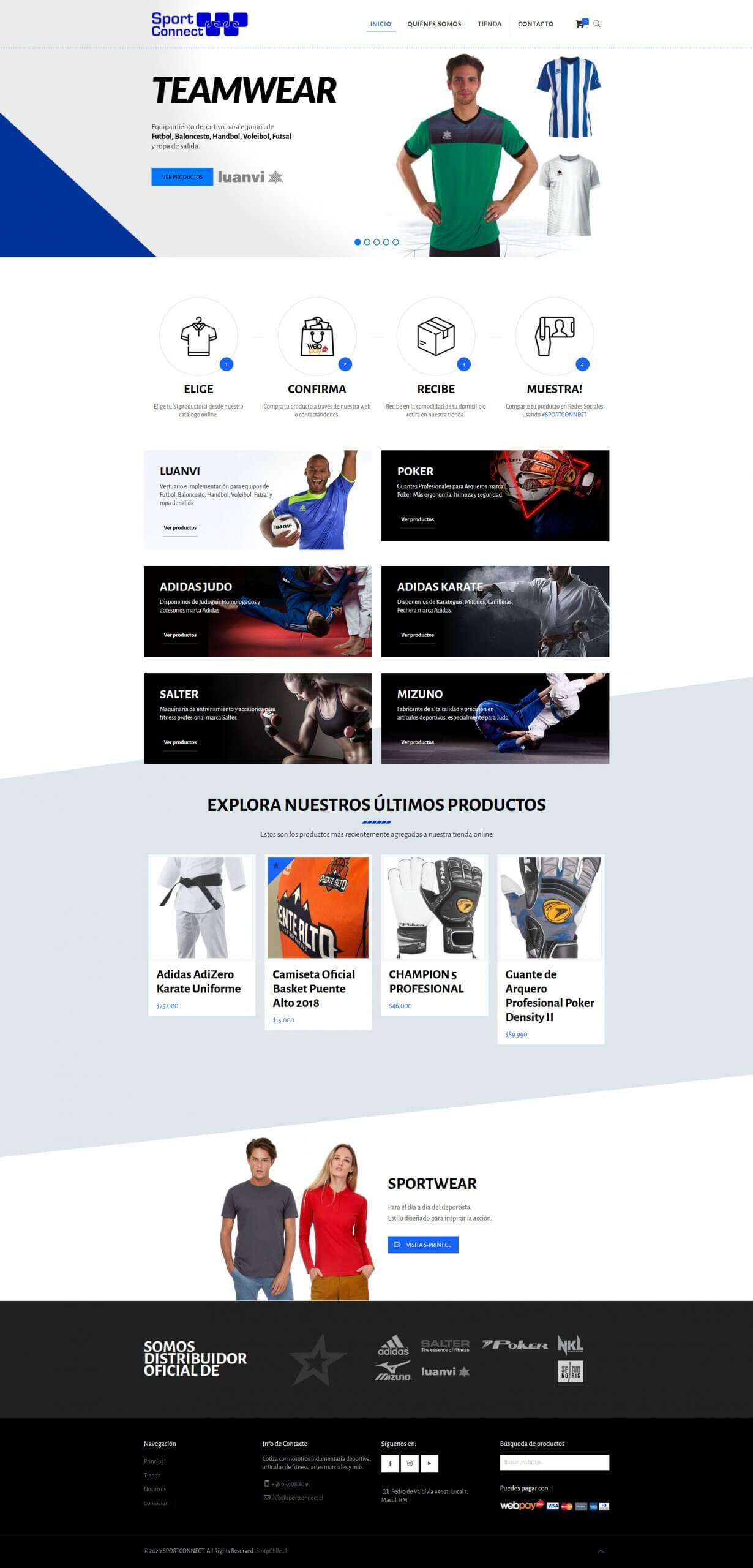 Diseño web Santiago
